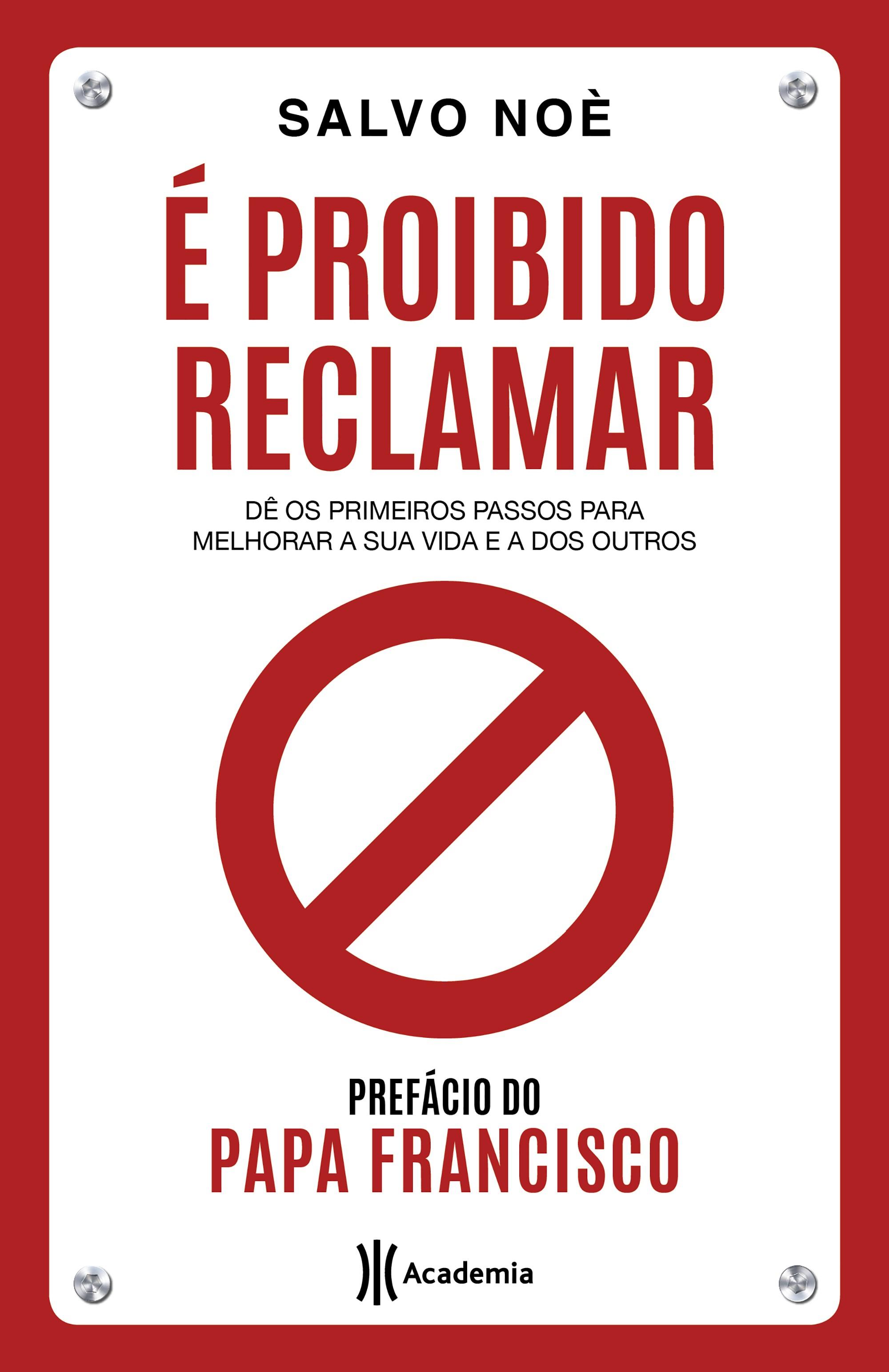 A capa de 'É proibido reclamar'