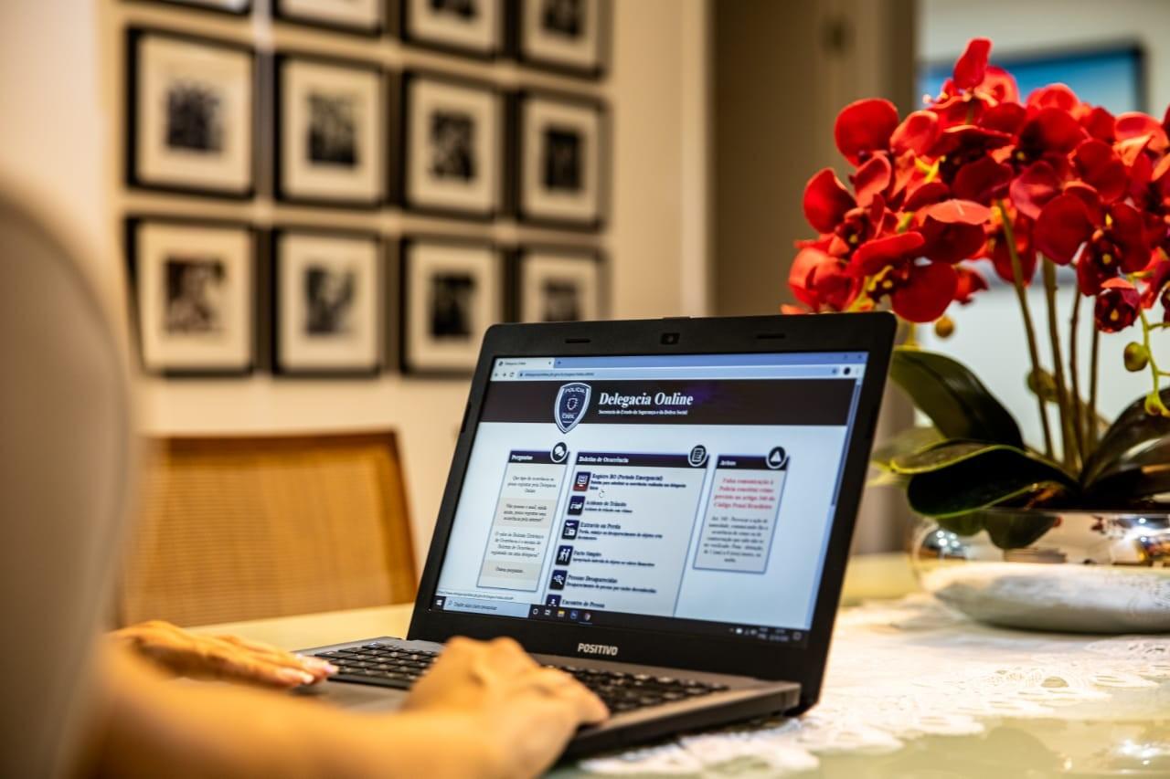Delegacia online tem aumento de 120% no número de registros em três meses, na PB
