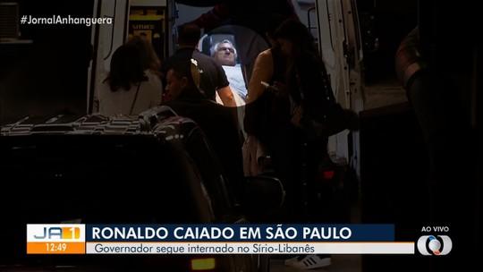 Governador Ronaldo Caiado passa por angioplastia e coloca stent