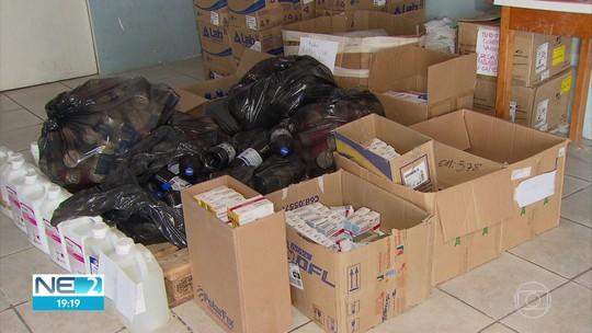 Mais de 50 mil remédios e insumos hospitalares vencidos são achados em Camaragibe