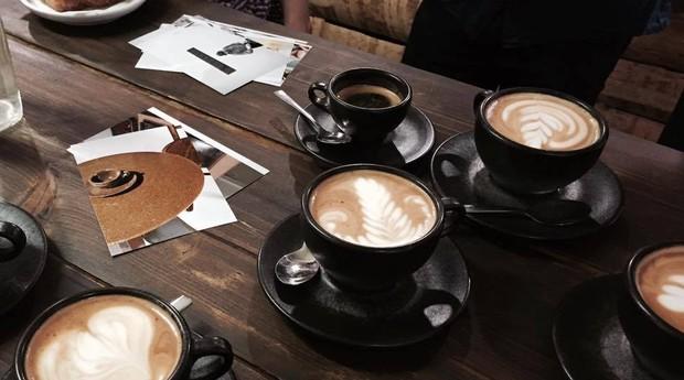 Xícaras da startup alemã Kaffeeform (Foto: Reprodução/Instagram)