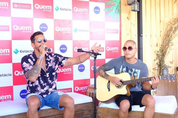 Banda Eva se apresenta no QUEM On Stage (Foto: Renato Wrobel)