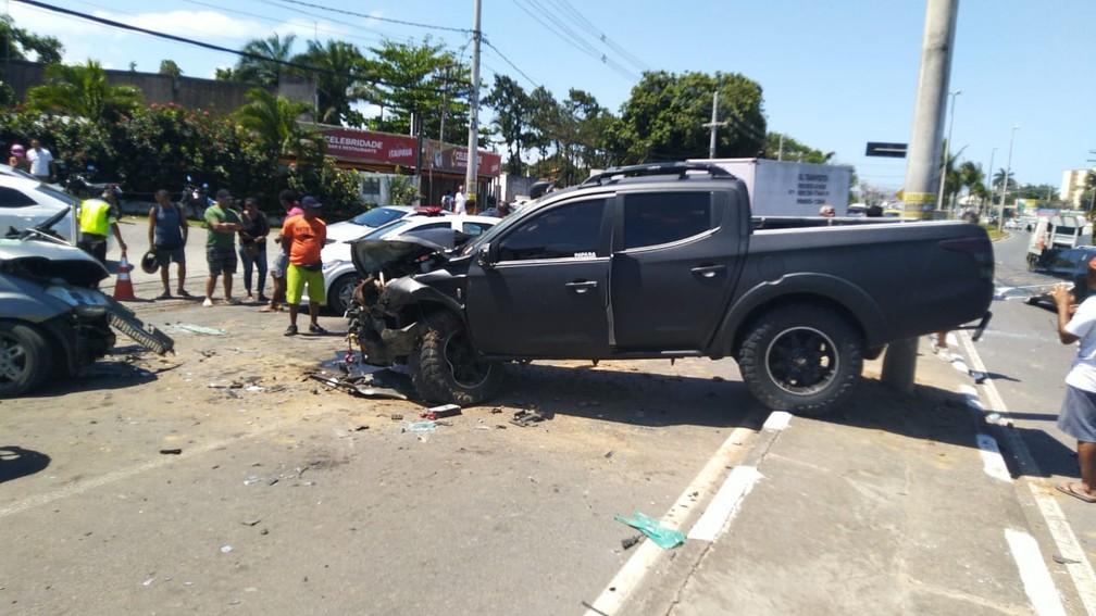 Caso ocorreu por volta das 10h15.  — Foto: Rafael Lopes / Arquivo Pessoal