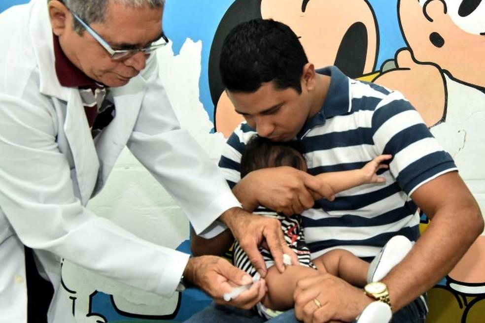 Semus divulga locais de vacinação contra o sarampo em São Luís — Foto: Divulgação/SEMUS