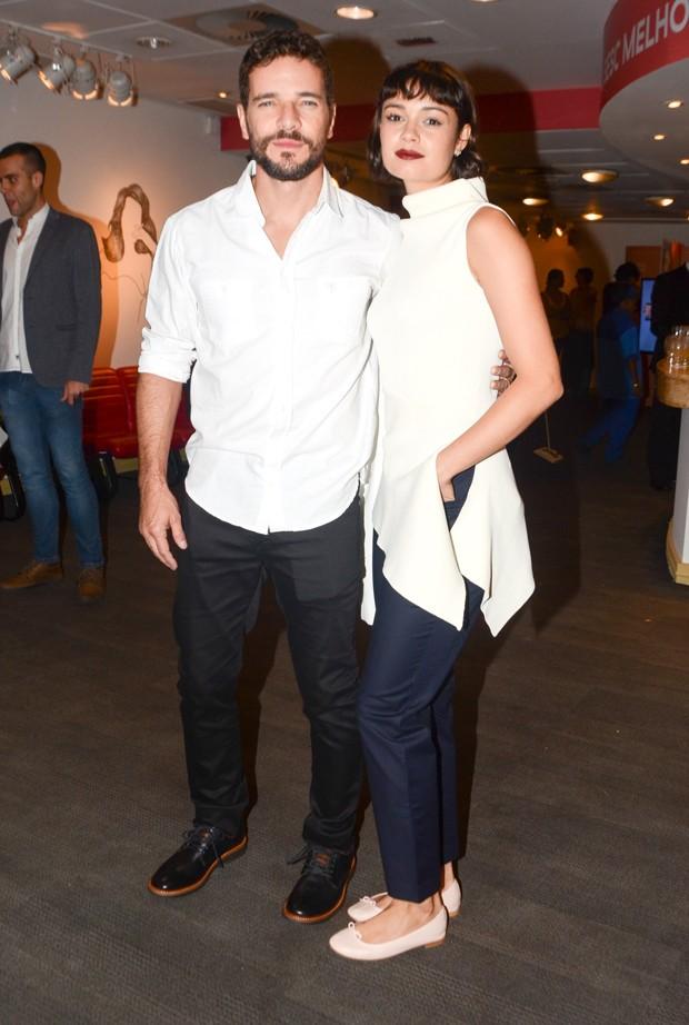 Sophie Charlotte e Daniel de Oliveira (Foto: Eduardo Martins/AgNews)
