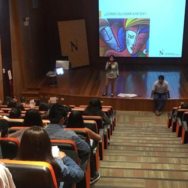 Auditório durante oficina sobre superação de relacionamento (Foto: DIVULGAÇÃO/UPN)