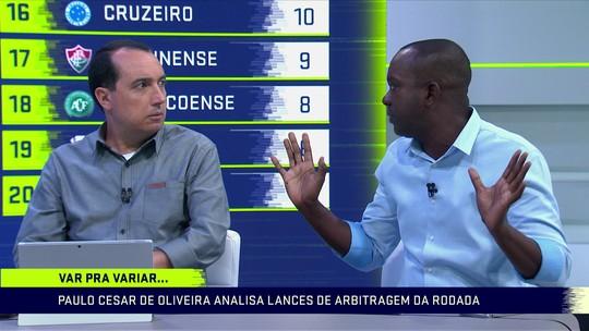PC Oliveira comenta lances polêmicos de arbitragem na 11ª rodada