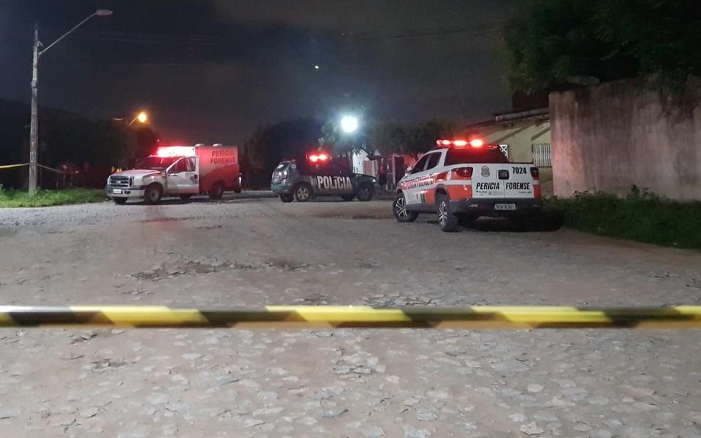 Testemunhas relataram que a garota estava em um carro com os criminosos. — Foto: Rafaela Duarte/Verdes Mares