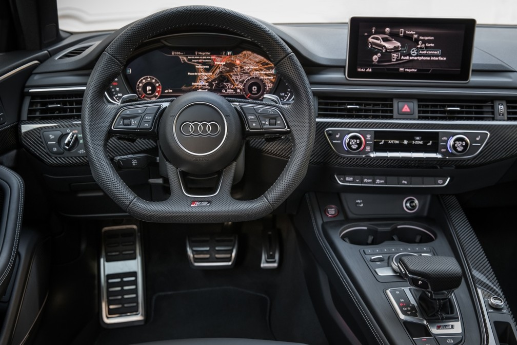Audi RS 4 Avant — Foto: Divulgação/Audi