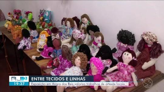 Exposição 'Entre tecidos e Linhas' valoriza trabalho de artesãs de Angra dos Reis
