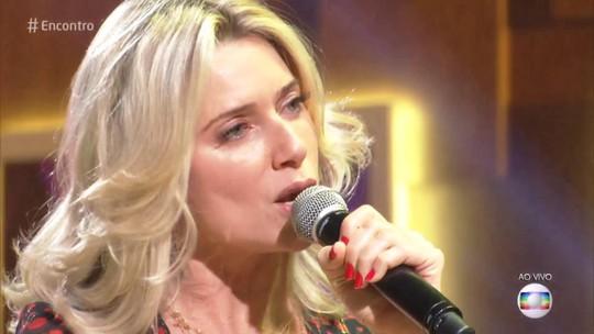 Letícia Spiller mostra seu lado cantora e lança clipe no 'Encontro'