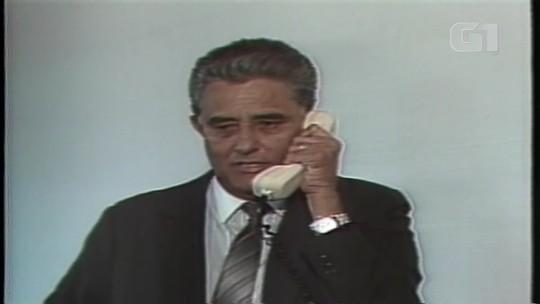 Joaquim Roriz é convidado por José Sarney, em 1998, para ser governador de Brasília