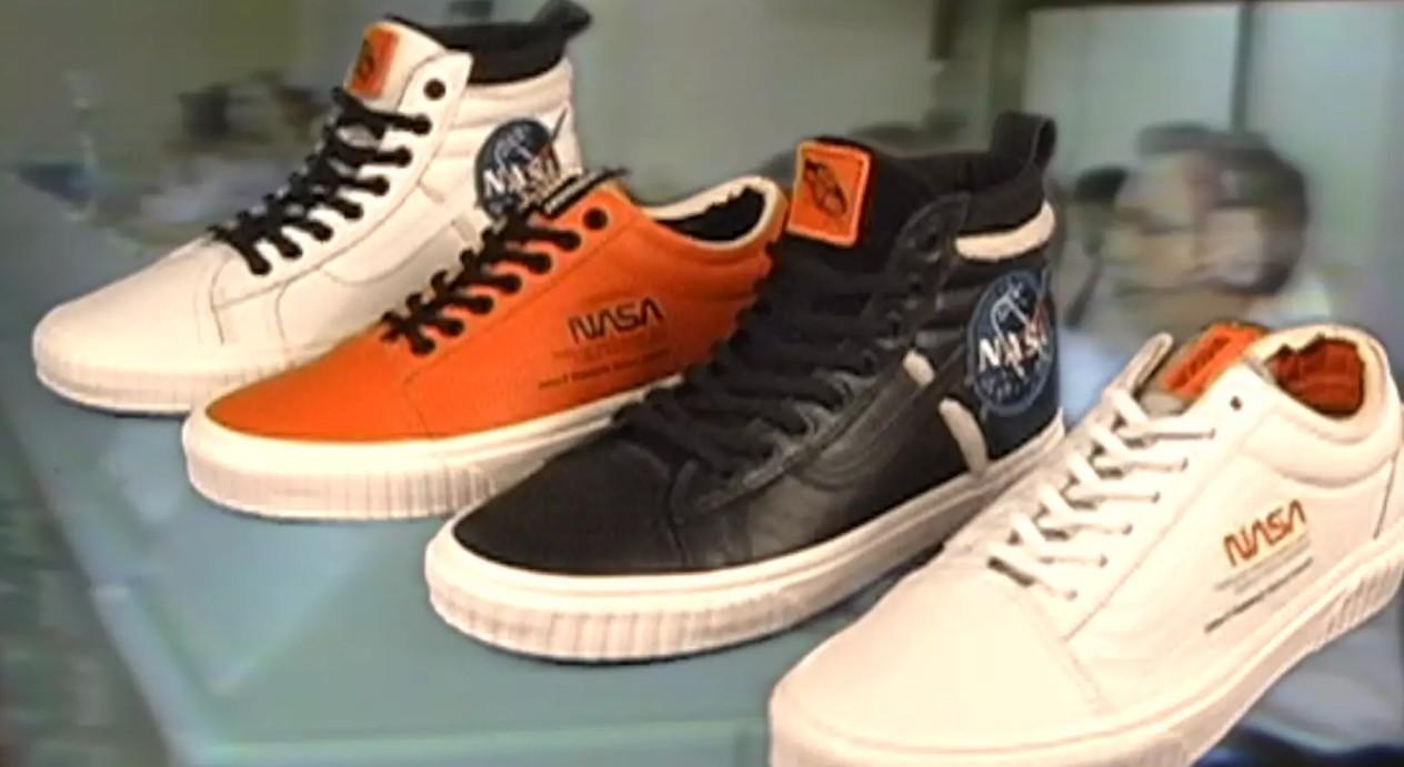 Vans lança tênis em homenagem à NASA (Foto: Divulgação Vans)
