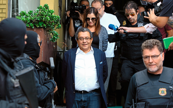 João Santana ex-marqueteiro do PT (Foto:  Rodolfo Buhrer/REUTERS)