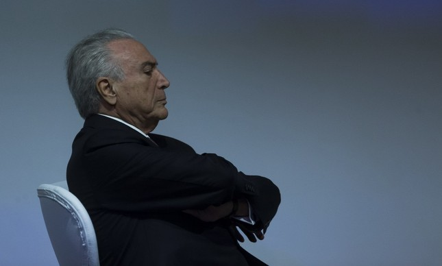 Presidente Michel Temer durante cerimônia em São Paulo