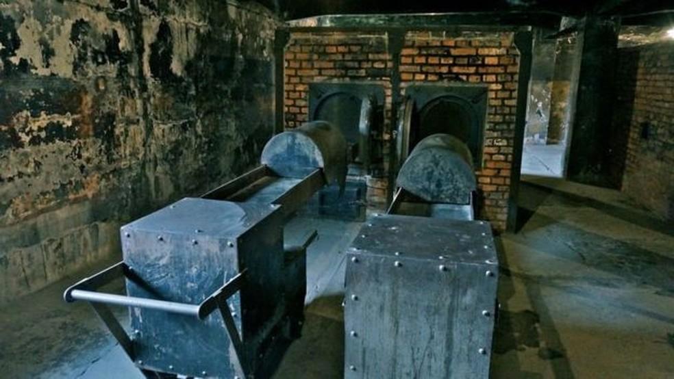 Nazistas cremavam vítimas em fornos — Foto: Getty Images/BBC