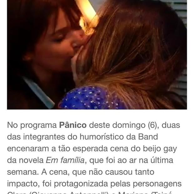 Nicole Bahls se defende de ataques homofóbicos (Foto: Reprodução/Instagram)