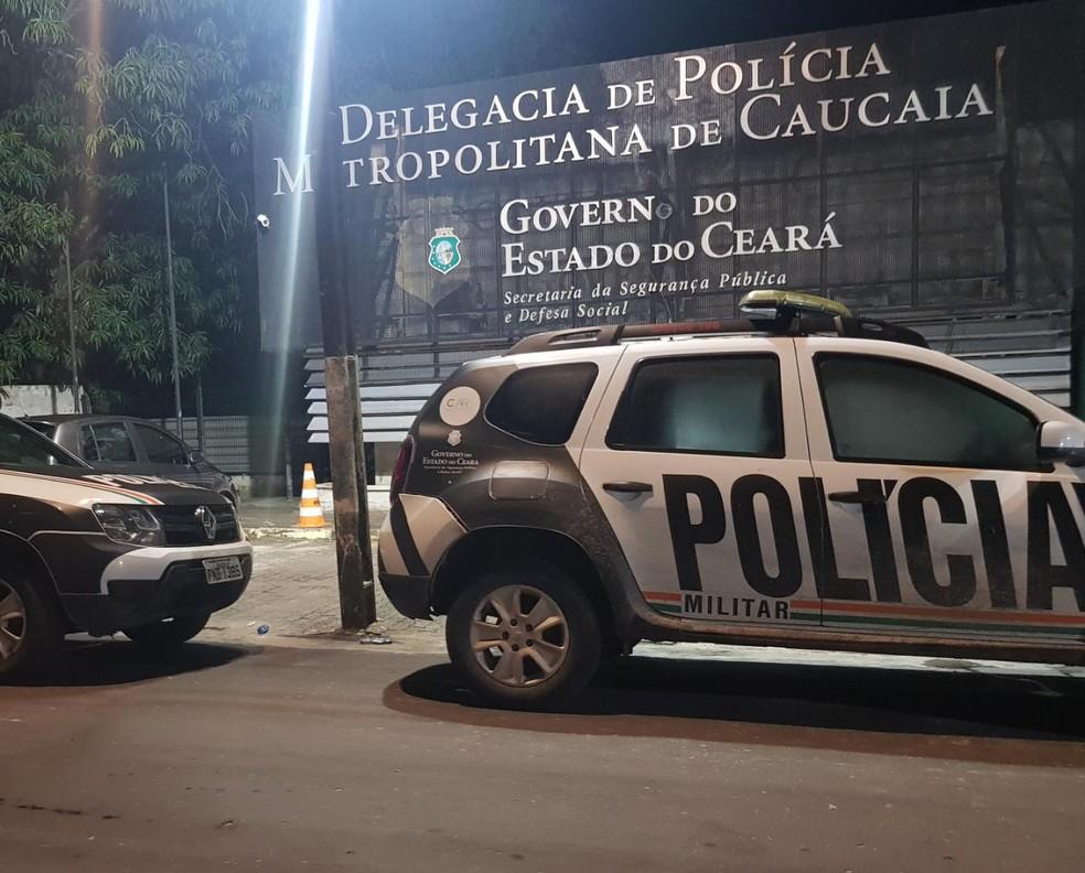 Cícero da França, de 64 anos, foi capturado pela polícia após matar a companheira em Caucaia. — Foto: Rafaela Duarte/ SVM