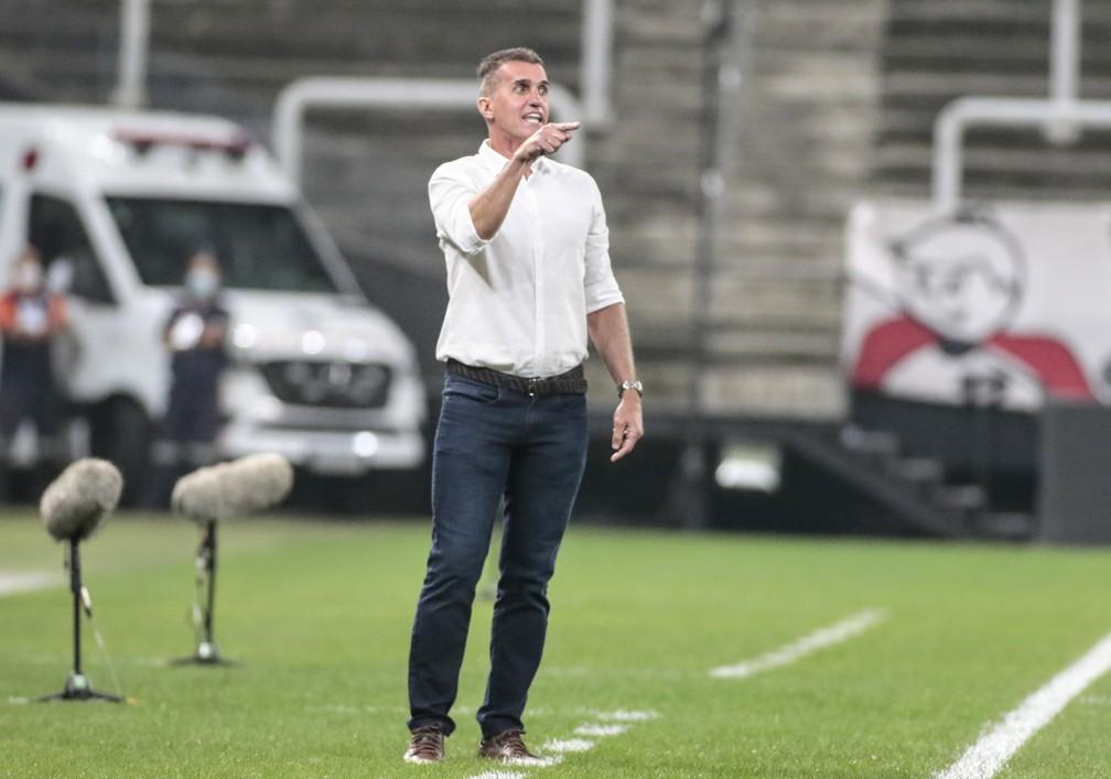 Vagner Mancini em Corinthians x São Bento — Foto: Rodrigo Coca/Agência Corinthians