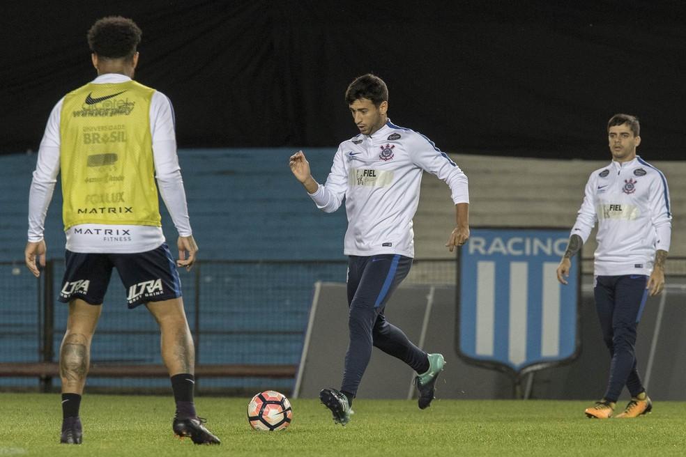 Camacho será uma das novidades entre os titulares do Timão (Foto: Daniel Augusto Jr / Agência Corinthians)