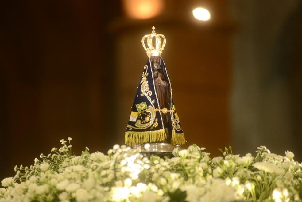 Nossa Senhora Aparecida é considera a padroeira do Brasil pelos fiéis católicos (Foto: Thiago Leon/Divulgação Santuário Nacional)