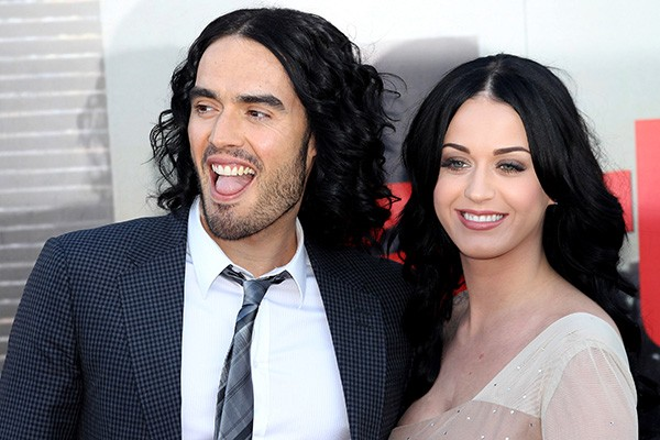 Kety Perry e Russell Brand (Foto: Getty Images)