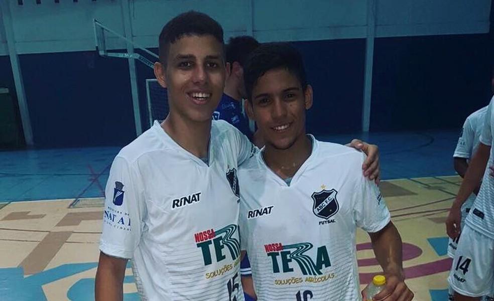 Ricardinho (à esquerda) defendeu o ABC na Taça Brasil Adulto, em março (Foto: Divulgação)