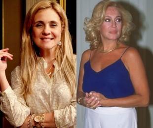 Carminha (Adriana Esteves) e Branca (Susana Vieira) | TV Globo