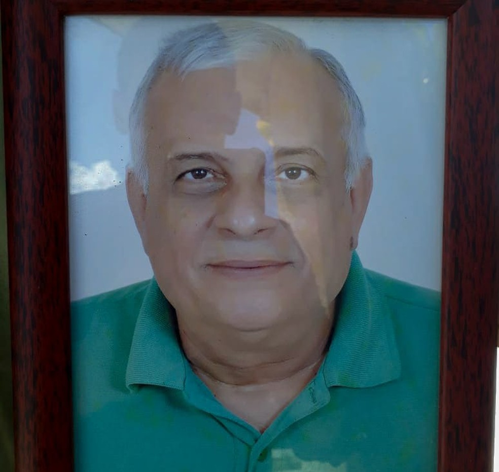 Rubens de Azevedo Maia tinha 67 anos e foi morto a tiros em Parnamirim, Grande Natal (Foto: Reprodução/Arquivo da Família)