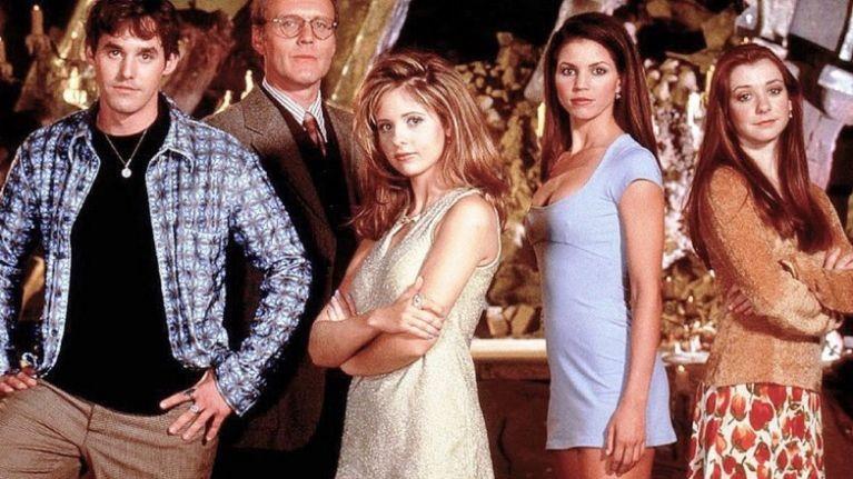 Elenco original de Buffy, a Caça-Vampiros (Foto: Divulgação)
