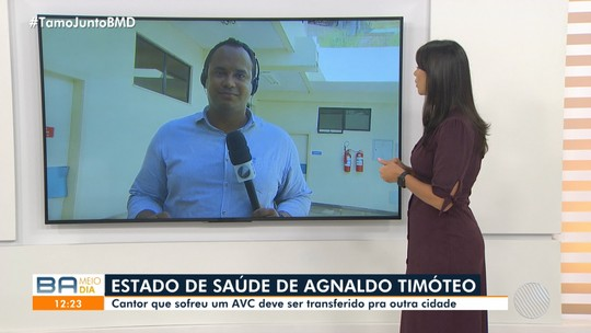 Cantor Agnaldo Timóteo apresenta melhora e pode ser transferido de Salvador