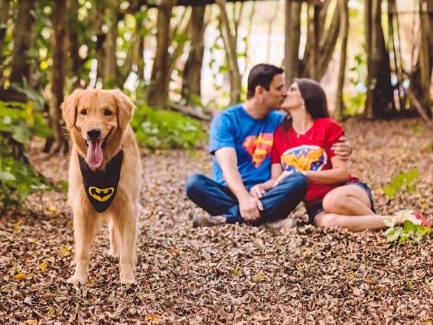 Tratamentos psicológicos para o cão (Foto: Débora/Arquivo Pessoal)