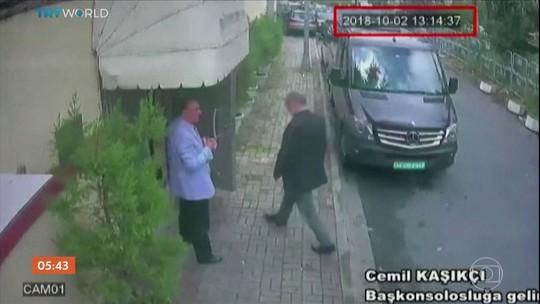 Gravação mostra conversa de assassinos de jornalista dentro de consulado saudita
