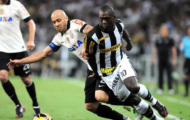 Seedorf Botafogo e Corinthians (Foto: Andre Durão)