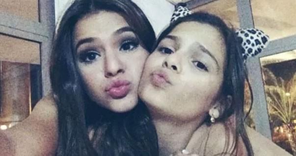 Bruna e Luana Marquezine (Foto: Reprodução/Instagram)