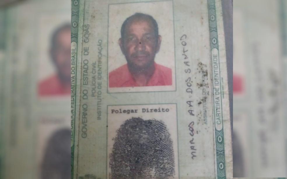 """Marcos Alves dos Santos morreu agredido após chamar cabeleireiro de """"bixa"""" e """"pomba-gira"""", em Goiás — Foto: Divulgação/Polícia Civil"""