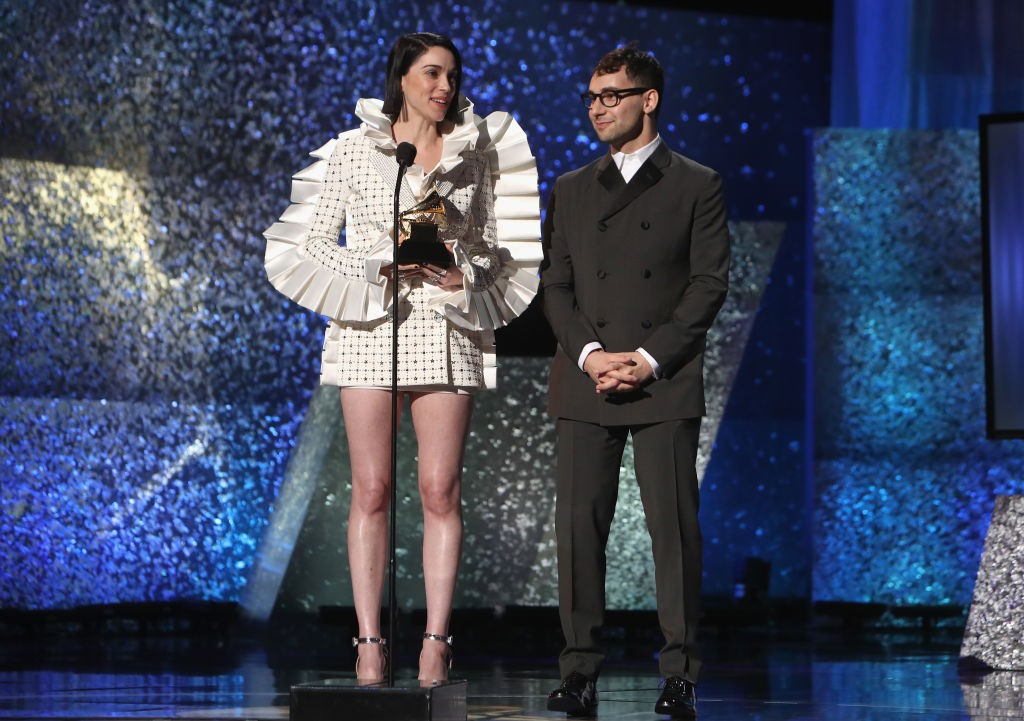 St Vincent e Jack Antonoff (Foto: Getty Images)