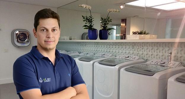 Ele cresce com franquia de lavanderia econômica, que oferece serviços a partir de R$ 2