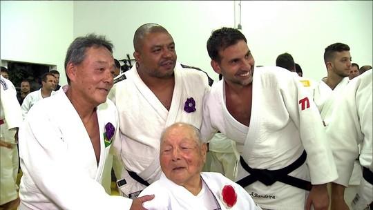 Sensei Massao Shinohara se torna o judoca mais graduado do Brasil