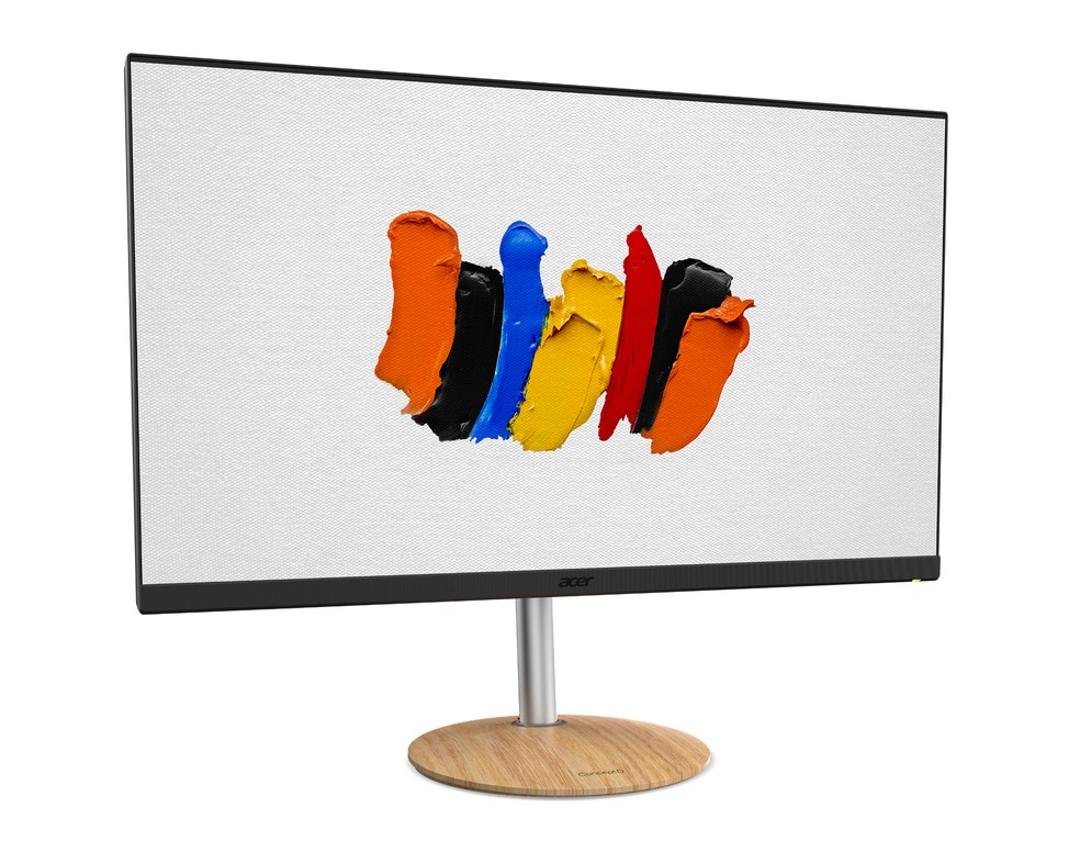 Novos monitores ConceptD também se destinam aos profissionais de criação — Foto: Divulgação/Acer
