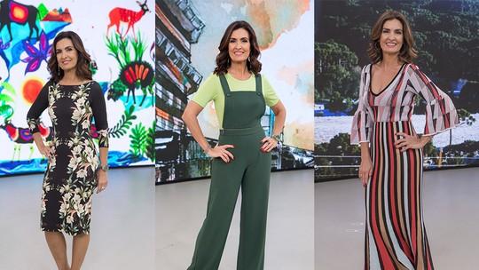 Fátima Bernardes dá boas-vindas à primavera com dicas de looks para usar na estação