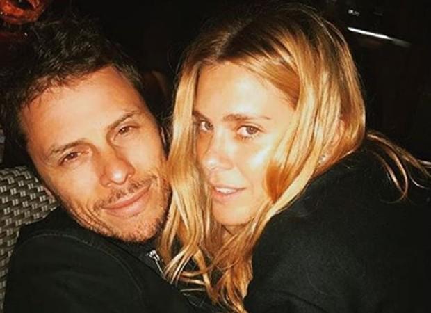 Tiago Worcman e Carolina Dieckmann (Foto: Reprodução/Instagram)