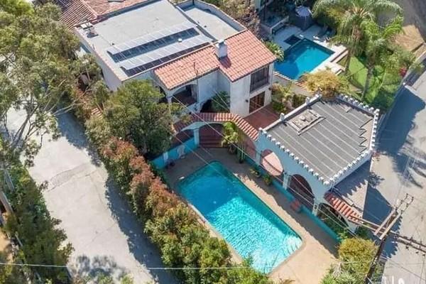 A mansão colocada à venda pelo ator Leonardo DiCaprio (Foto: Divulgação)