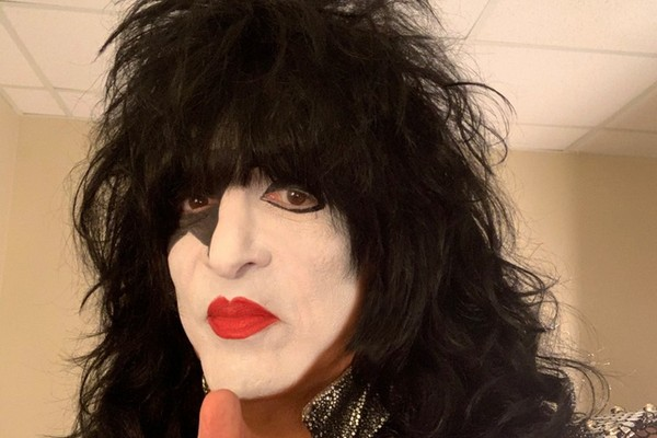 O músico Paul Stanley, do Kiss (Foto: Twitter)