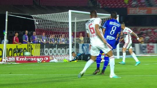 Apodi na ponta, Euller na armação, gol de Bustamante: o empate do CSA contra o São Paulo