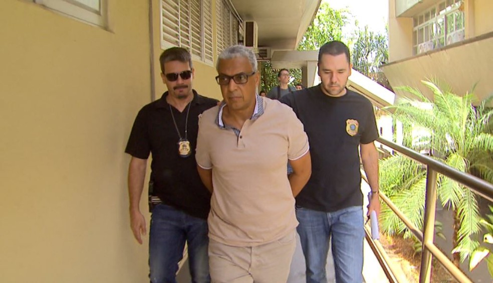 O ex-secretário de Administração do governo Dárcy Vera (PSD), Marco Antônio dos Santos — Foto: Reprodução/EPTV