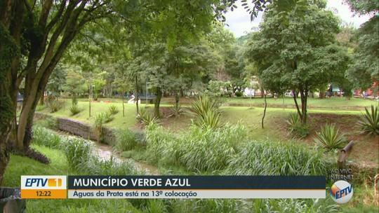 Águas da Prata recebe selo com a melhor colocação da região no 'Município VerdeAzul'