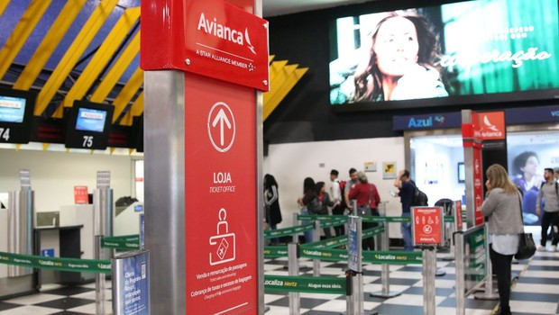 Segundo informações da Infraero, 12 chegadas previstas para o Aeroporto de Congonhas foram canceladas (Foto: Rovena Rosa/Agência Brasil)