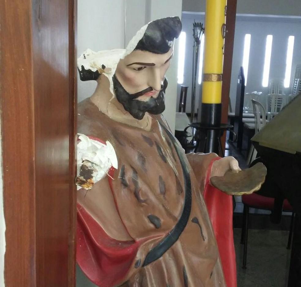 Imagem de mais de 50 anos será restaurada pela igreja (Foto: Cedida)