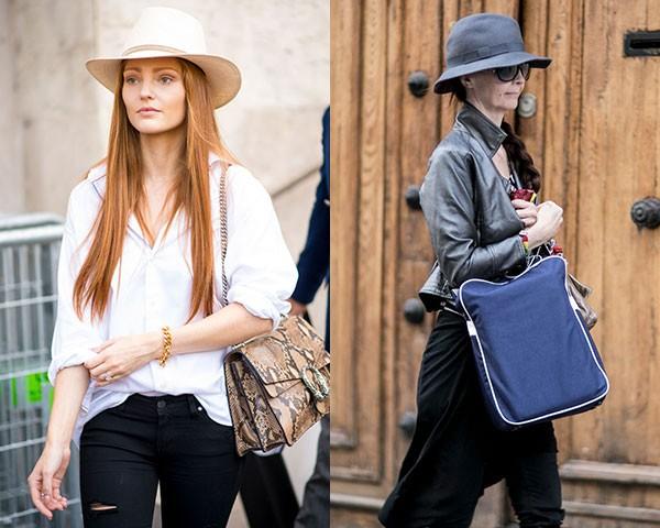 Combinar o chapéu com a roupa é uma opção (Foto: Imaxtree)